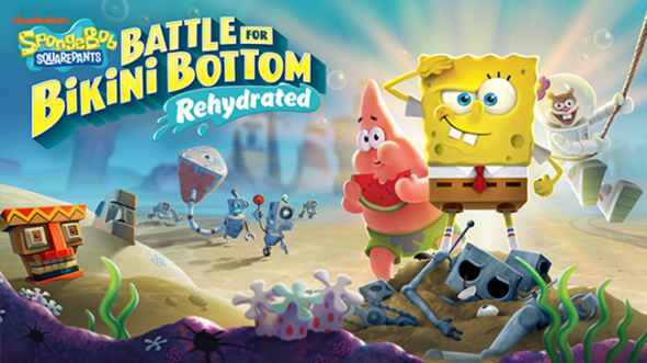 SpongeBob SquarePants: Battle for Bikini Bottom Rehydrated multiplayer trailer revealed