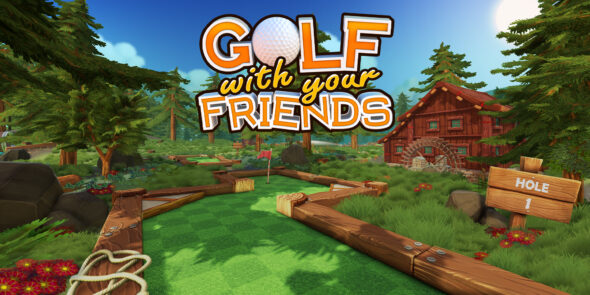 Play golf with up to 12 friends in Golf with your Friends