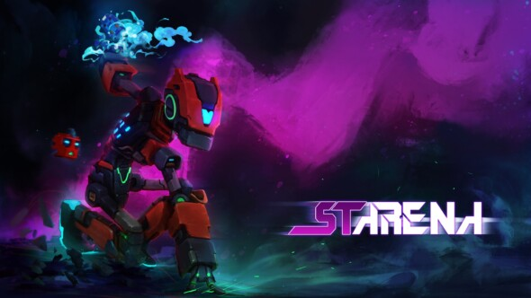 "Robot Fighting Arena game ""Starena"" will be on Steam the 21nd of May"