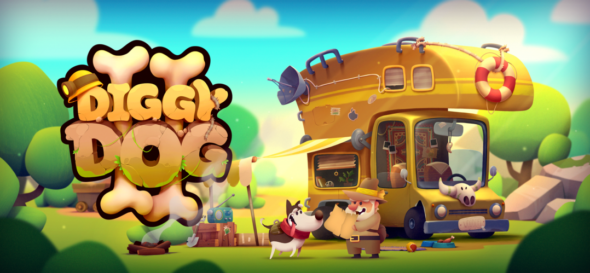 Woof Woof! My Diggy Dog 2 on Steam July 1