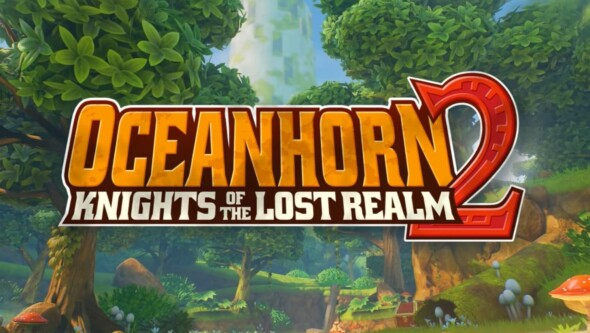 "Oceanhorn 2 is available on Apple Arcade. Play ""Knights of the Lost Realm"" now!"
