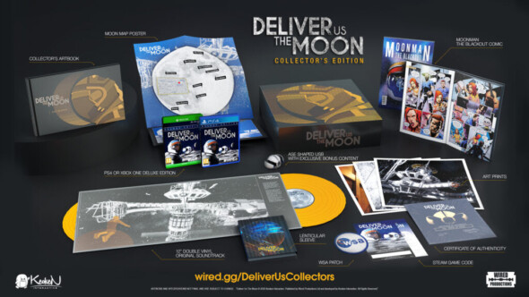 Deliver Us The Moon collector's edition to be released in fall 2020