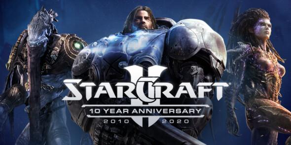Massive anniversary update for StarCraft II