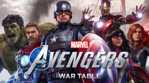 Third Marvel's Avengers WAR TABLE premieres September 1st