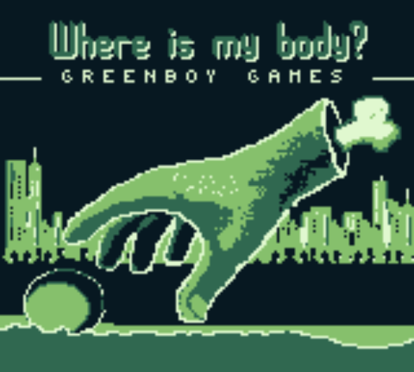 """Where Is My Body?"" is a point-and-click game for the Game Boy on Kickstarter"