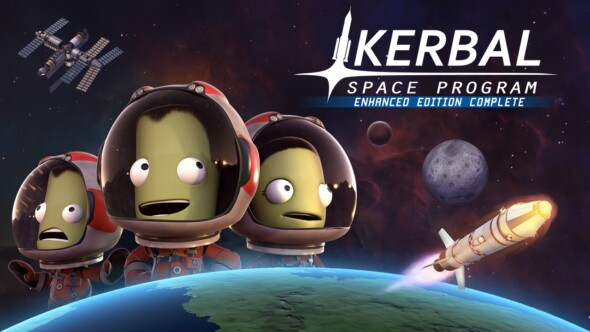Kerbal Space Program: Enhanced Edition Complete now available on consoles