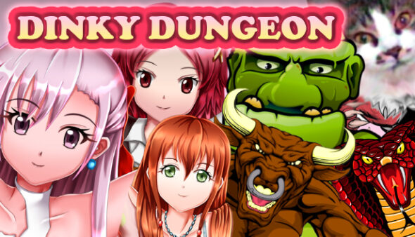Dinky Dungeon might be the absurd game (FPS) you are looking for