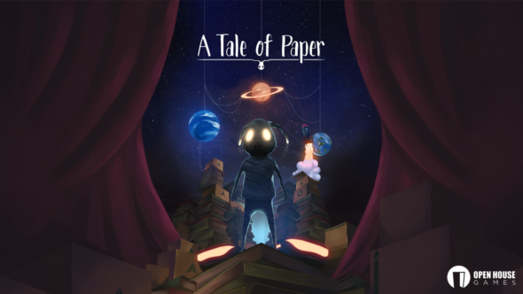 Dev Vlog for PS4 exclusive A Tale of Papers released today