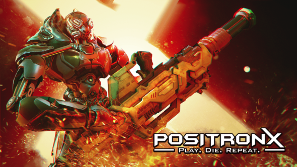 Futuristic rogue-lite FPS PositronX blasts its way out of Early Access on October 29th