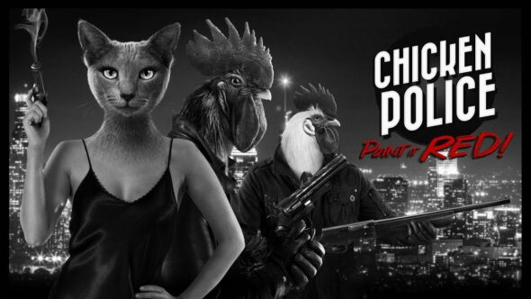 Chicken Police – Paint it Red launches today