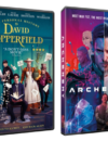 The Personal History of David Copperfield and Archenemy both appear on DVD & Blue-ray