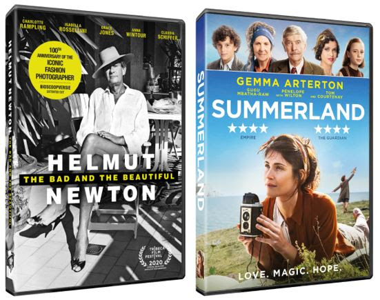 Helmut Newton: The Bad and the Beautiful and Summerland appear on DVD in February