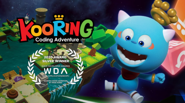 KOORING VR Coding Adventure Now Available on Steam and Viveport