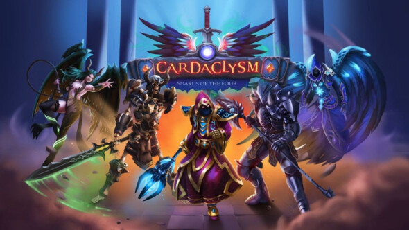 Cardaclysm: Shards of the Four' released on Steam today