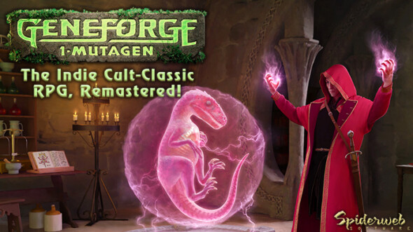 Geneforge 1 – Mutagen is NOW available on PC & Mac