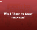Contest: 3x Steam Keys for Room to Grow