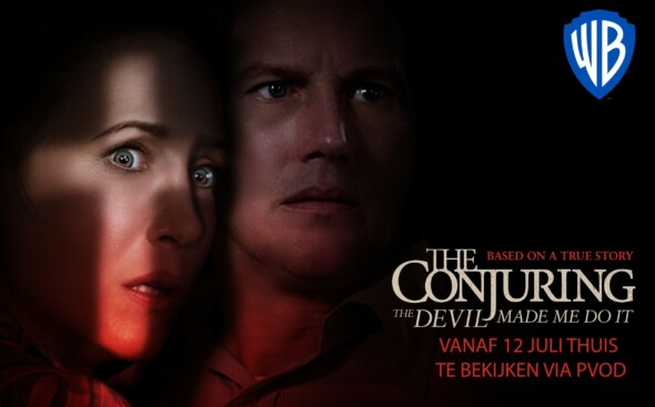 Popular sequel in The Conjuring series available at your home the 12th of July (Europe)