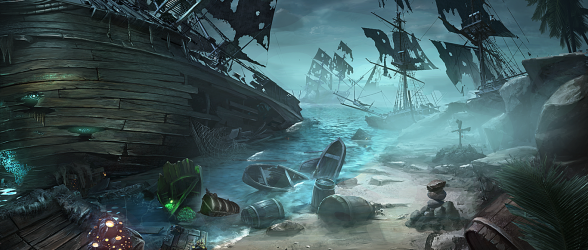 Walk the plank in Nightmares from the Deep: The Cursed Heart