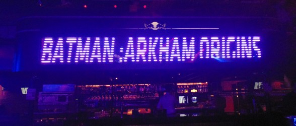 Batman Arkham Origins – Release party