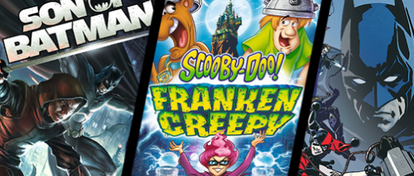 DVD releases – DC Universe Son of Batman, Batman: Assault on Arkham and Scooby-Doo: Frankencreepy
