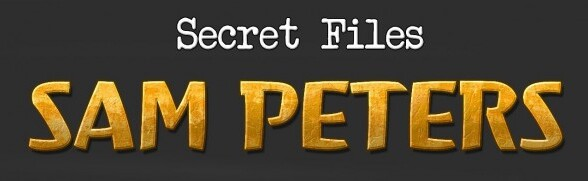 Secret Files Sam Peters available now