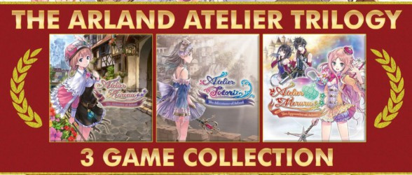 Release date for The Arland Atelier Triology revealed