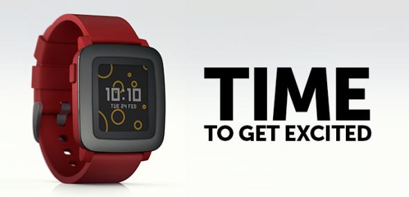 Pebble Time Kickstarter
