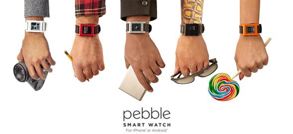 Pebble banner