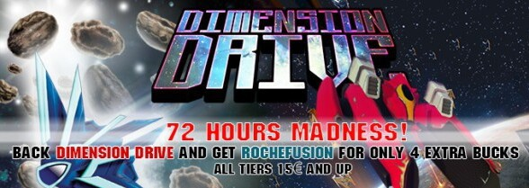 Dimension Drive backers get exclusive Roche Fusion deal