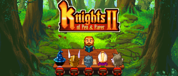 Knights of Pen & Paper 2 is… Extremely meta