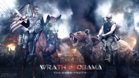 Wrath Of Obama, dark-humour + action-strategy
