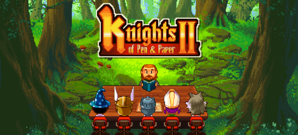 Knights of Pen and Paper 2 rolls out on PC