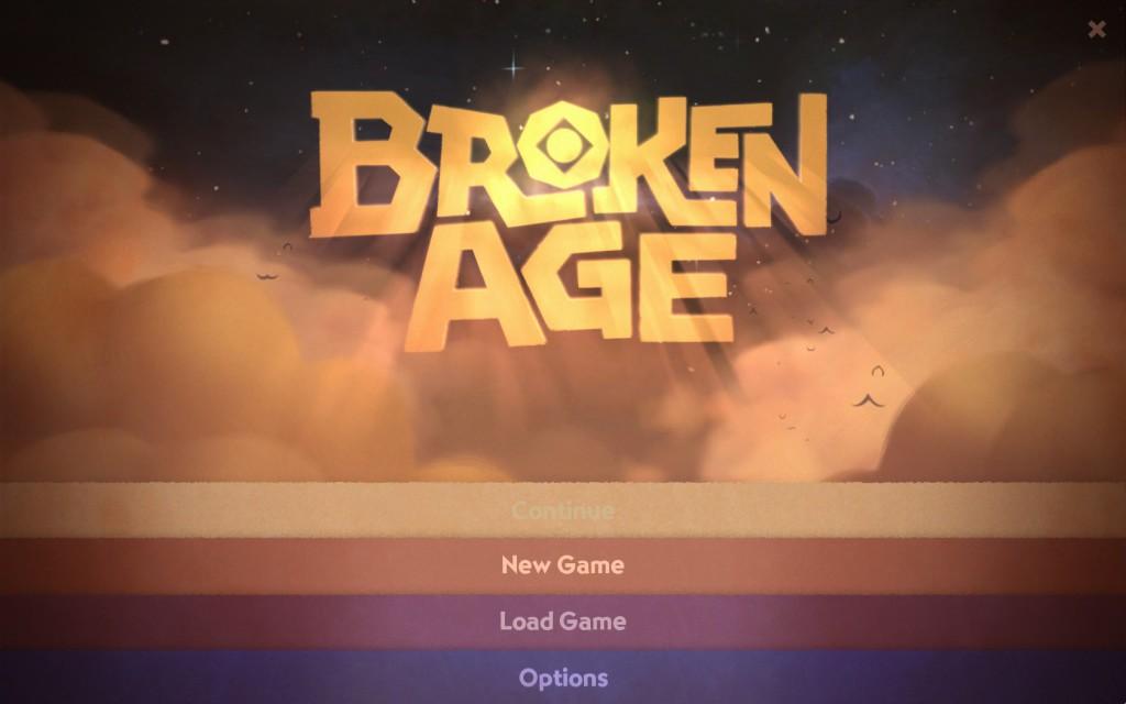 Broken Age Title