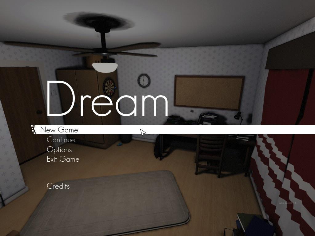 Dream menu