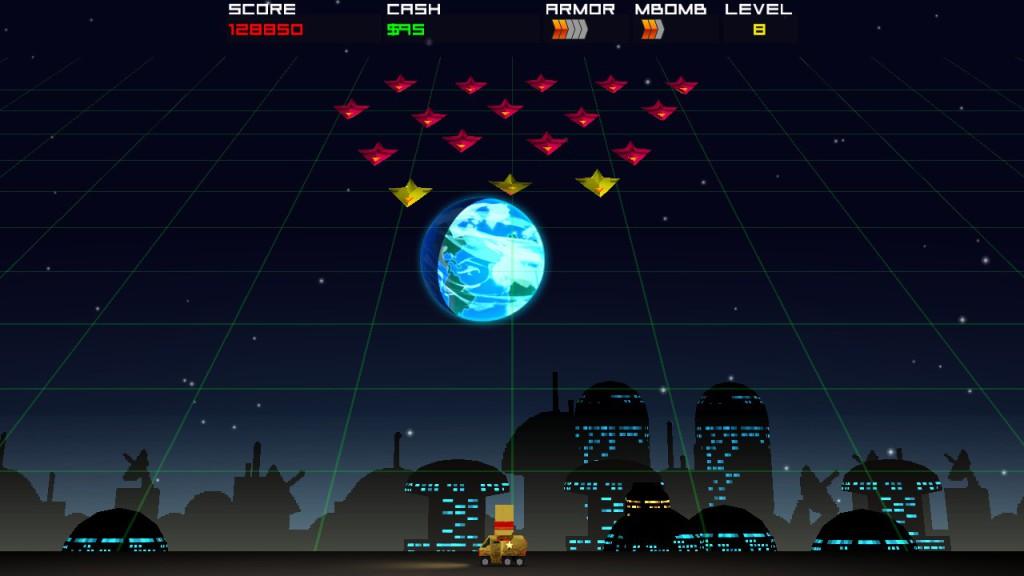 cosmic rocket defender -1