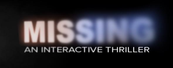 Missing: An Interactive Thriller Logo
