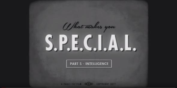 Fallout 4: S.P.E.C.I.A.L.: Intelligence Trailer