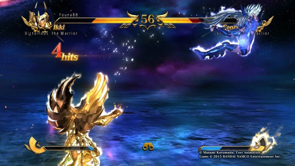 Saint Seiya - online gameplay