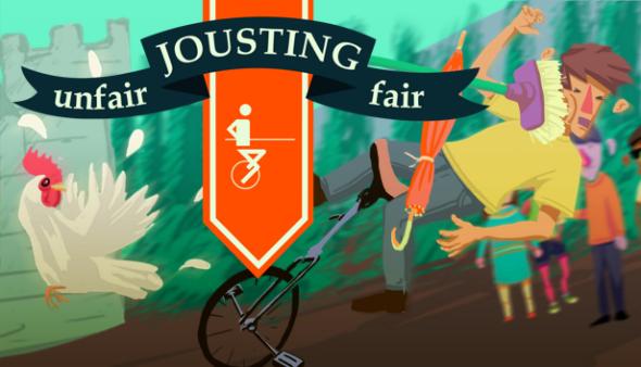 Unfair Jousting Fair logo