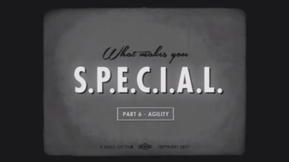 Fallout 4 S.P.E.C.I.A.L. Agility trailer