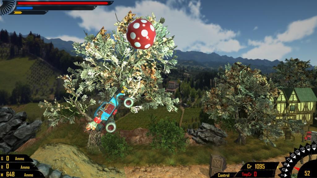 ironkraft ball gameplay