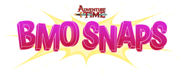 Snap that picture with BMO in Adventure Time's new app