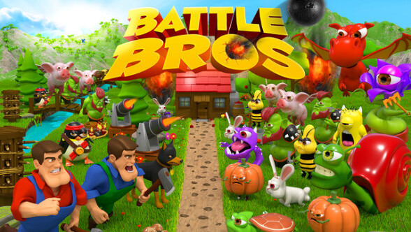 Enter the fray in Battle Bros.