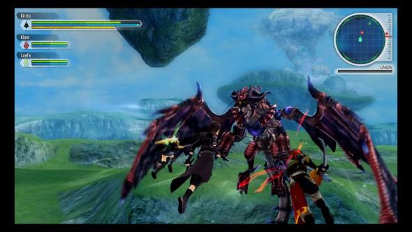 SAO LS final boss gameplay