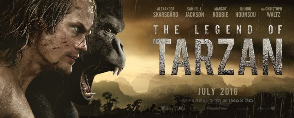 New trailer for The Legend of Tarzan