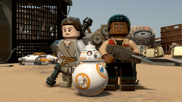 LEGO Star Wars – The Skywalker Saga game shows its key art