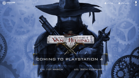 The Incredible Adventures of Van Helsing: Extended Edition is coming soon to PlayStation 4