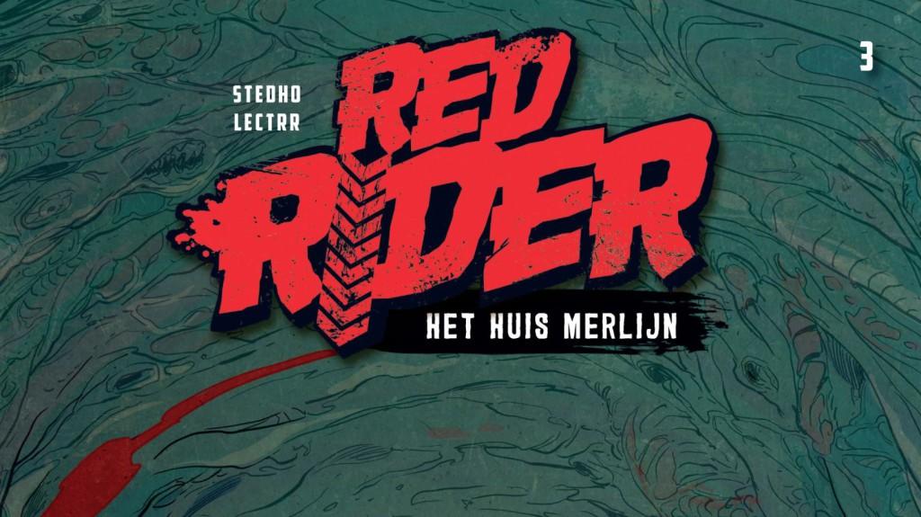Red Rider #3 Het Huis Merlijn Banner