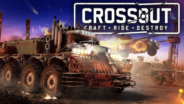 Crossout got new content, it's all about water