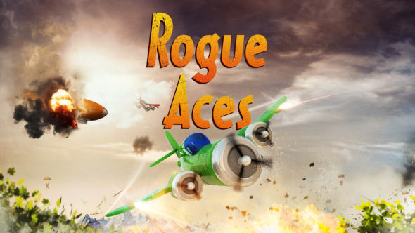 Fight for air supremacy in World War 2(D) as a Rogue Ace